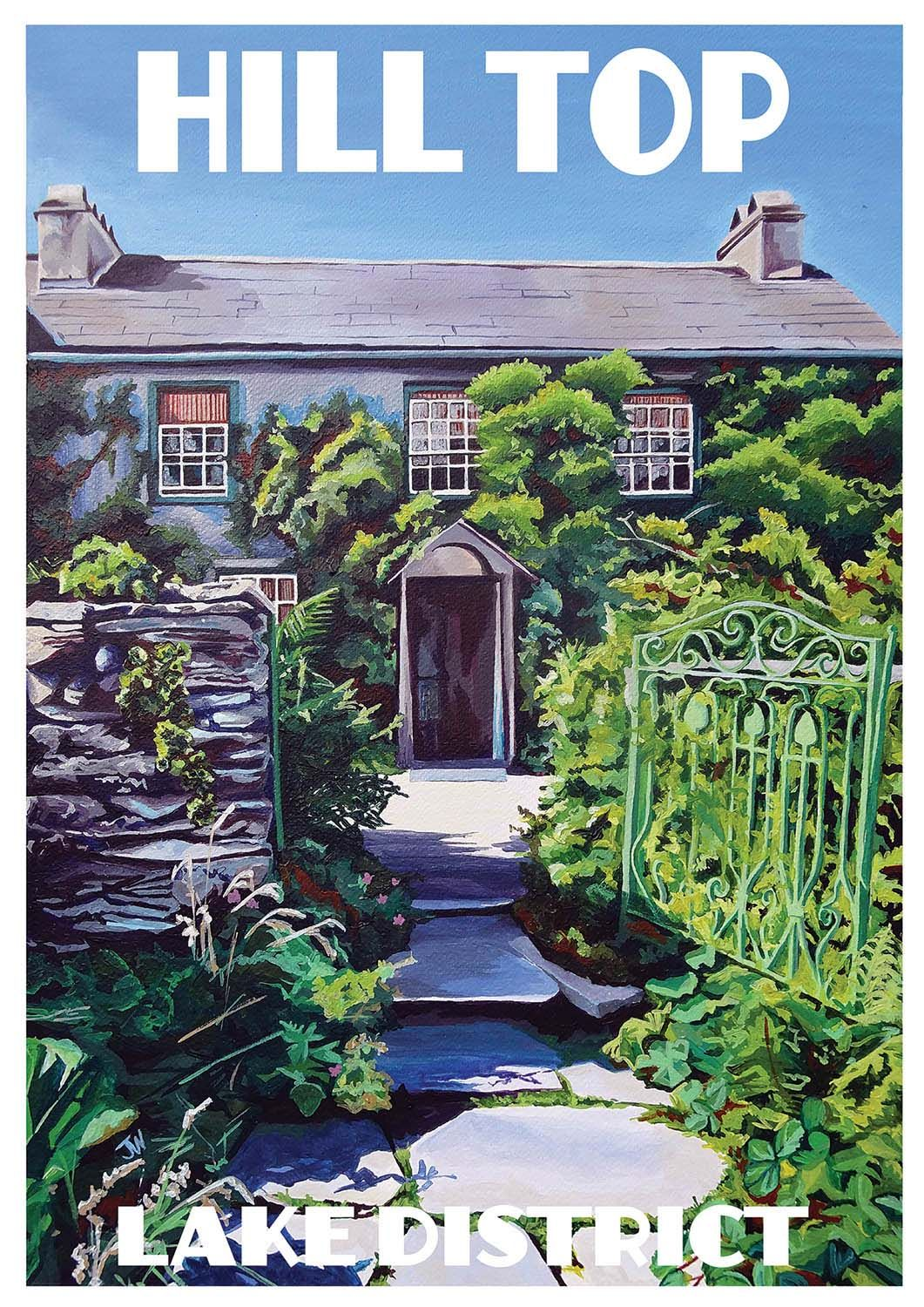 Jo Witherington, Artist - Hill Top, the home of Beatrix Potter, Lake District